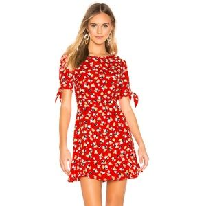 Faithfull Red Daphne Dress